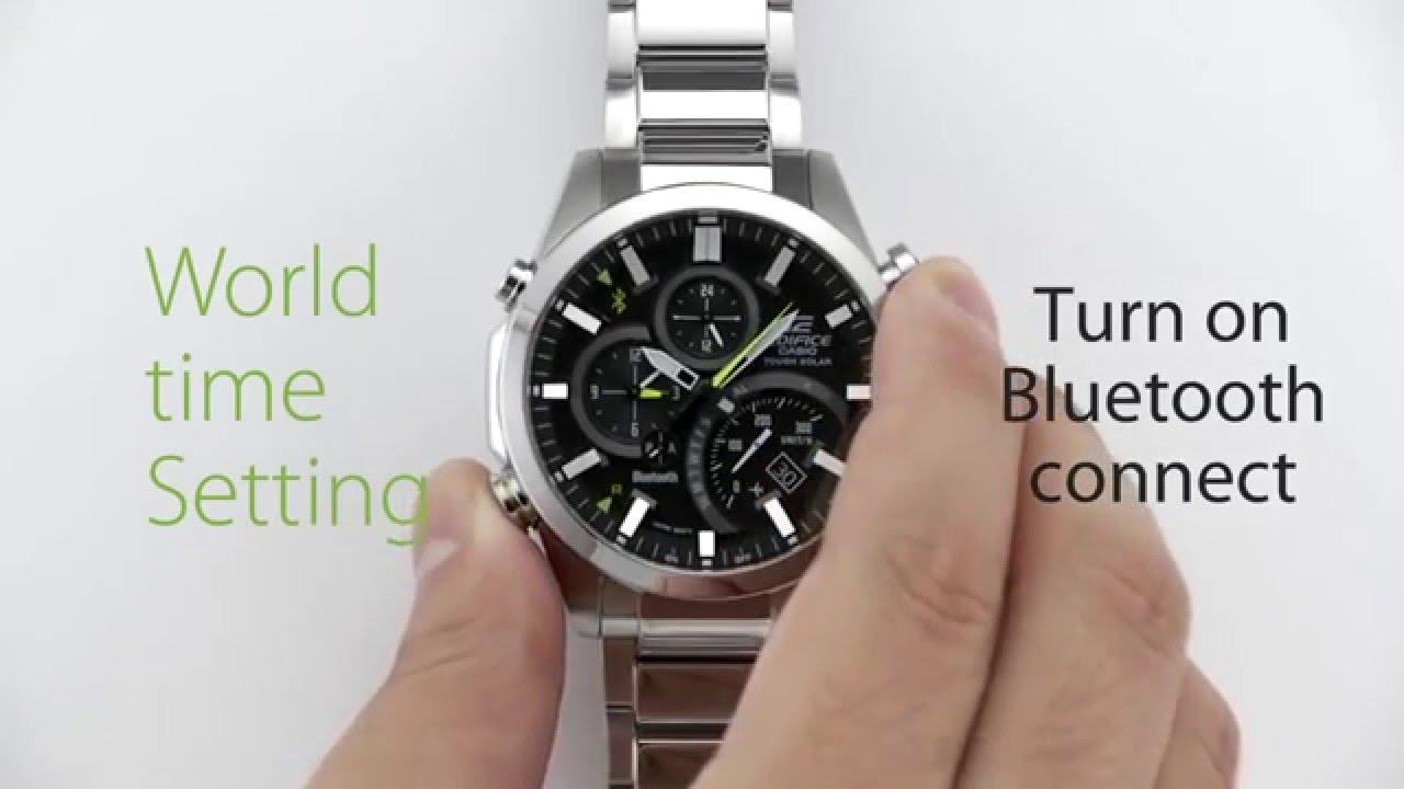 SVETCASU.CZ hodinky CASIO EDIFICE EQB 500 světové časy - YouTube 5279df47f20