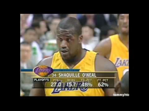 Shaq's Freethrows at its best - throwing grenades
