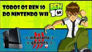 Nintendo Wii - Todos os Ben 10 do Nintendo Wii.