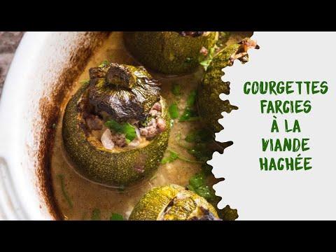 courgettes-rondes-farcies-à-la-viande-hachée