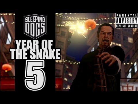 Beef Plays Sleeping Dogs - Year Of The Snake - EP05 - Gas Everyone!