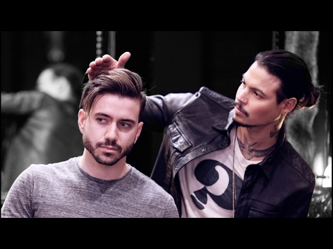 FULL Men's Haircut with Daniel Alfonso | No Edits | Live Men's Hairstyle Tutorial