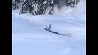 Снігохід канава не перестрибнув-2. Сахалін. Snowmobiles. Sakhalin. Russia