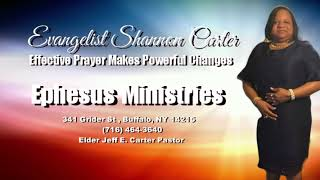 Shannon Carter - Effective Prayer Makes Powerful Changes (Part 2)