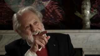 David Puttnam in the Corona Fastnet Short Film Festival Greenroom