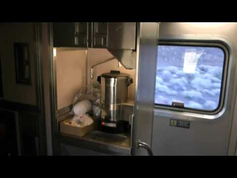 Thumbnail: tour of Amtrak superliner sleeper car California Zephyr