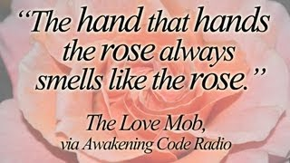 In Studio with THE LOVE MOB [clip] | Awakening Code Radio Thumbnail