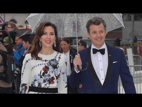 Kronprinsesse Mary begejstrede til kongelig gallafest i Oslo