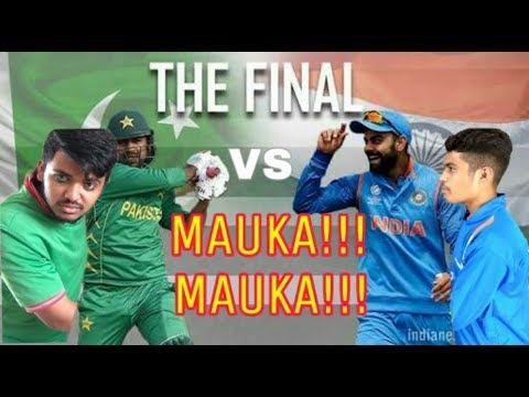 MAUKA MAUKA | INDIA VS PAKISTAN FINAL CHAMPIONS TROPHY | Father's Day Special | SWAG BUSTER