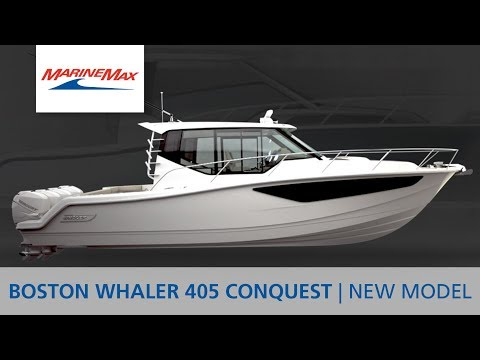Full Tour | All-New Boston Whaler 405 Conquest