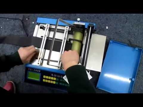 Automatic Heat Shrink Sleeve Tube Cutting Machine Youtube
