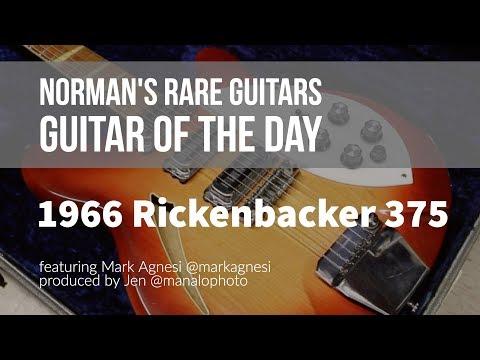 Norman's Rare Guitars - Guitar of the Day: 1966 Rickenbacker 375 Fireglo