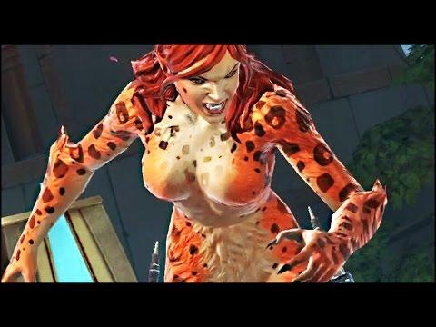Cheetah Gameplay | DC Legends