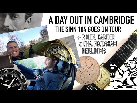 The Sinn 104 Goes On Tour & A Look At Some Family Heirlooms - Rolex, Cartier & Charles Frodsham