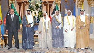 الوزير يعقوب الصانع والوزير بدر العيسى يؤديان القسم أمام سمو الأمير 26-10-2014
