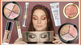 ОЧЕНЬ МНОГО НОВИНОК Eveline Cosmetics тон Belor Design Макияж и первые впечатления
