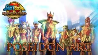Saint Seiya Brave Soldiers - PS3 - Poseidon Arc (Trailer)