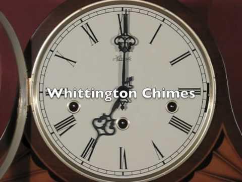 Hermle 21162-N91050 Triple Chime Tambour Mantel Clock