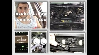 Lincoln LS Top 6 Common issues discussed