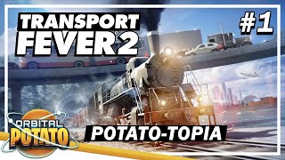 IT'S FINALLY HERE! - Transport Fever 2 - NEW Transport Management Strategy Game - Episode #1