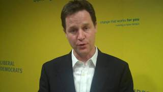 Nick Clegg on student funding