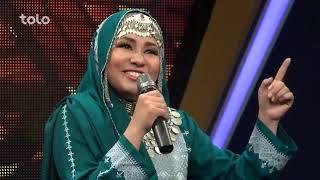صدیقه مددگار - مرحله ۸ بهترین - نور بند / Sadiqa Madadgar - Top 8 - Noor Band