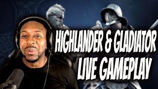 For Honor : Gladiator & Highlander Live Gameplay - Season 3 Dev Reveal