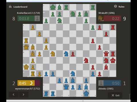 high rated 4 Player Chess Oct 16 2017 LIVE
