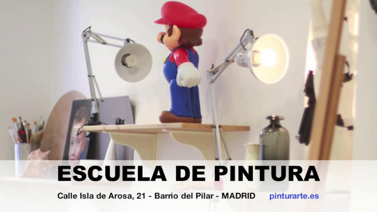 Clases de dibujo y pintura en Madrid  Barrio del Pilar