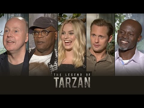 Sit Down With the Stars: Getting Wild with The Legend of Tarzan – Regal Cinemas [HD]