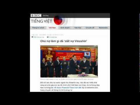 31-05-2011 - BBC Vietnamese - Chủ nợ làm gì để 'siết nợ Vinashin'