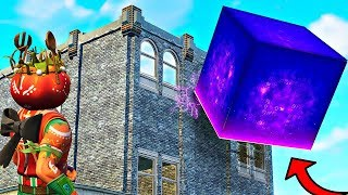 The *CUBE* is too OP ..! Fortnite Fails & Wins ( Fortnite Montage)