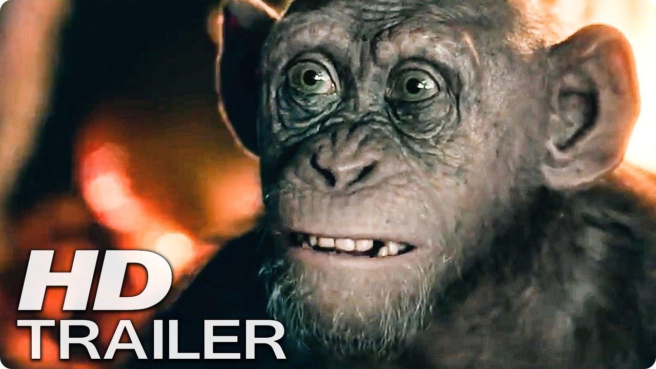 Planet Der Affen 3 Survival Trailer 2 German Deutsch 2017 Youtube