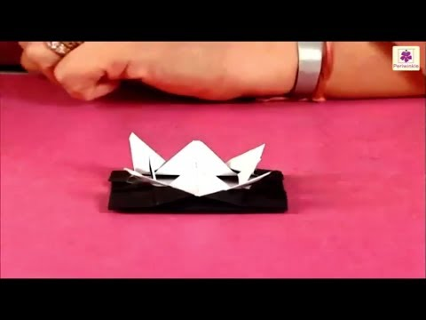 Learn How To Make UFO Using Paper | Paper Craft For Kids | O