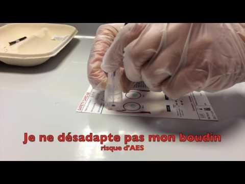 UE 4.4 S4 Pose d'une transfusion sanguine...