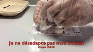 UE 4.4 S4 Pose d'une transfusion sanguine en situation simulée