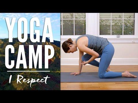 Yoga Camp - Day 19 - I Respect