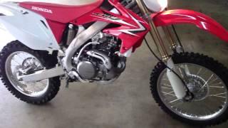New 2009 Honda CRF450X