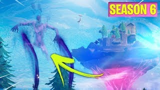 FORNITE SEASON 6 NEW MAP CHANGES!