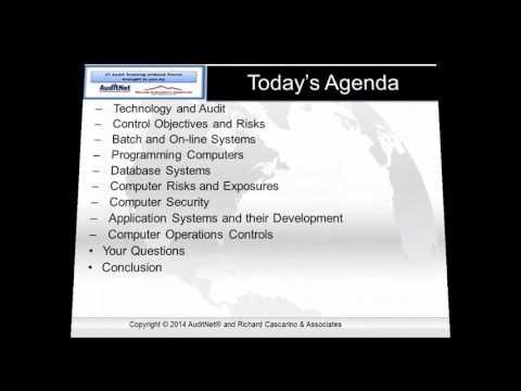 IT Audit Series Fundamentals of IT Audit