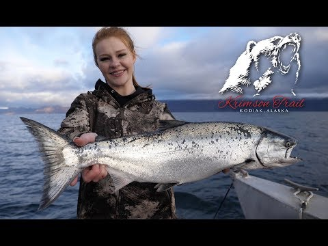 Trolling for King Salmon - Krimson Trail (Kodiak, Alaska)