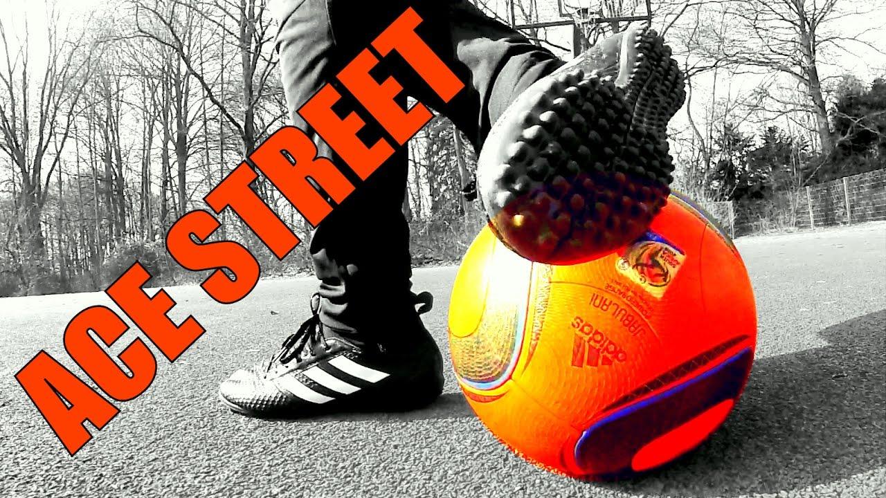552b440edece STREET Football Play Test   Adidas ACE TF - YouTube