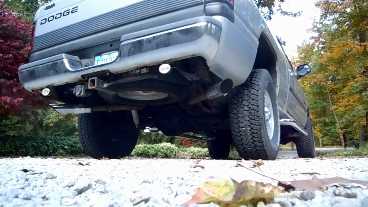 2001 Dodge Ram 1500 Exhaust - Before