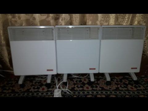 Обогрев электрическими конвекторами(квт/ч)