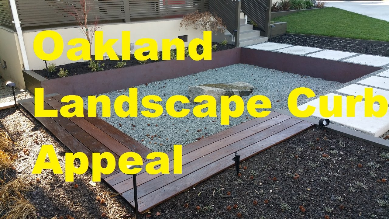 Oakland Landscape Curb Appeal ... All Access 510-701-4400 - YouTube