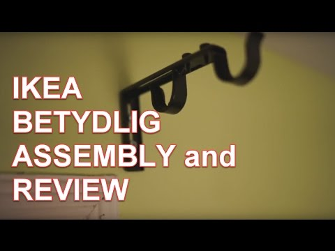 IKEA BETYDLIG Double Rod Assembly and Review