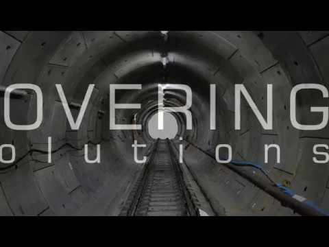Hovering Solutions Ltd. Crossrail Tunnel Mapping Using Drones