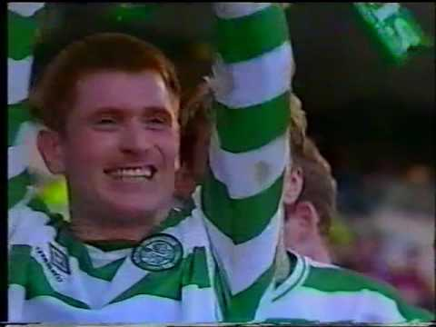 Scottish League Cup final Celtic v Aberdeen March 2000