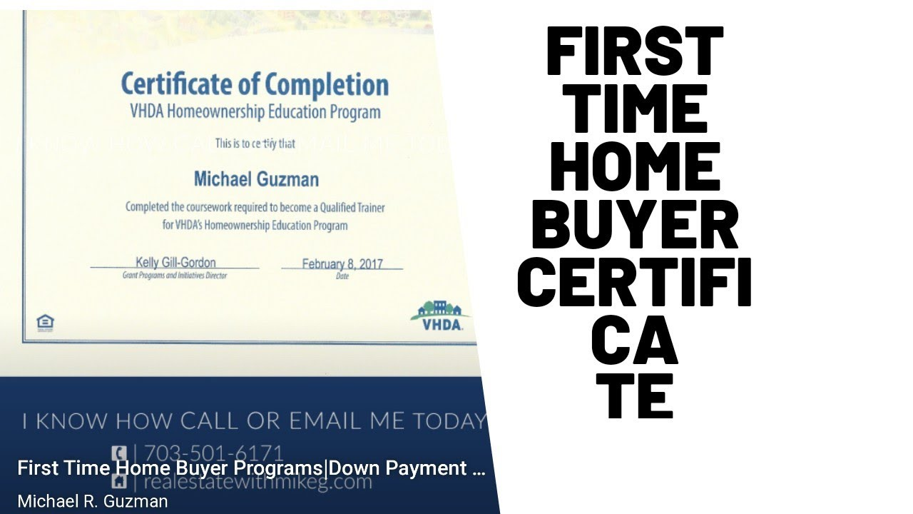 certificate buyer