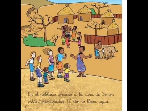 Viaje a África - Cuento para niños de 5 años - YouTube